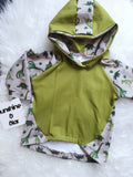relaxed hoodie (baby to 8-9y)