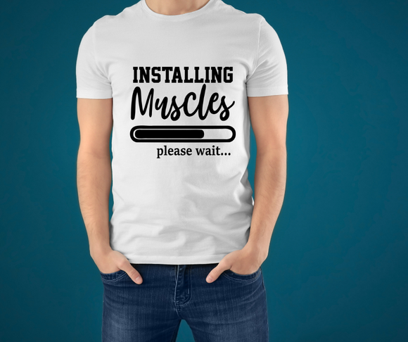 Installing muscles - unisex (multiple colour options)