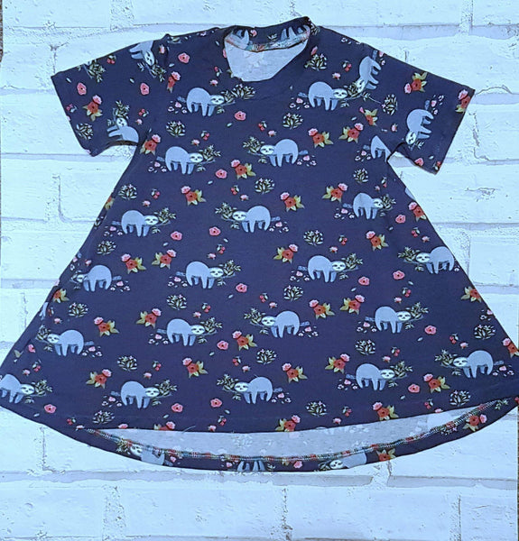 T-shirt dress (baby to 5-6y)