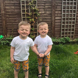 Relaxed shorts (baby to 11-12y)