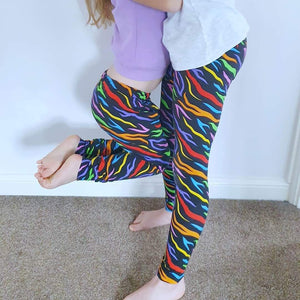 Elastic leggings (baby to 12-13y)