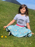 Twirly Whirly skirt (3m to 13yrs)