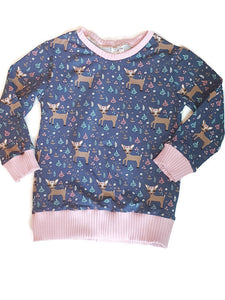 Deer sweater 5-6
