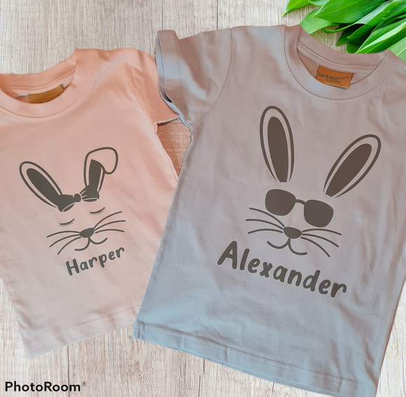 Build your bunny Tee (multiple colour options)