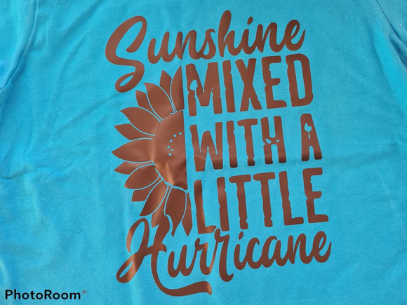 Sunshine mixed with hurricane (multiple colour options)