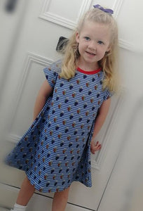 Beachcomber dress (baby to 12-13y)