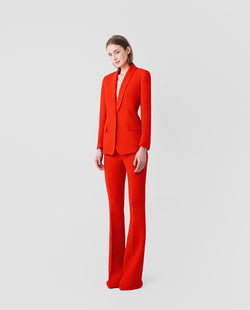 PANTALON SMOKING ROJO