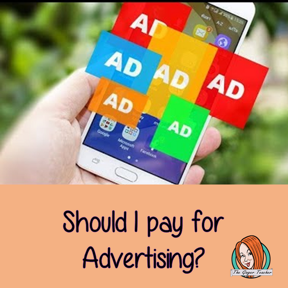 Should I pay for advertising?
