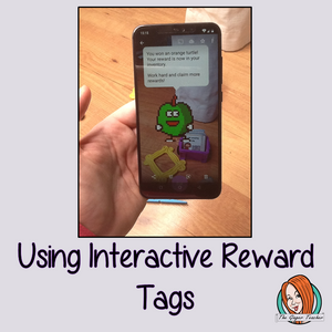 Using Interactive Reward Tags
