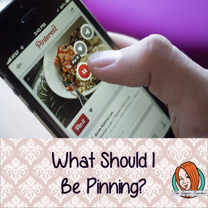 What should I be pinning?