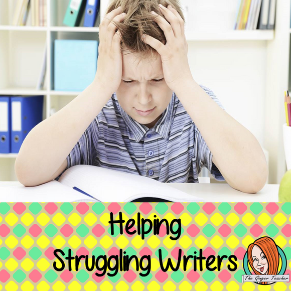 Strategies For Struggling Writers in Higher Grades