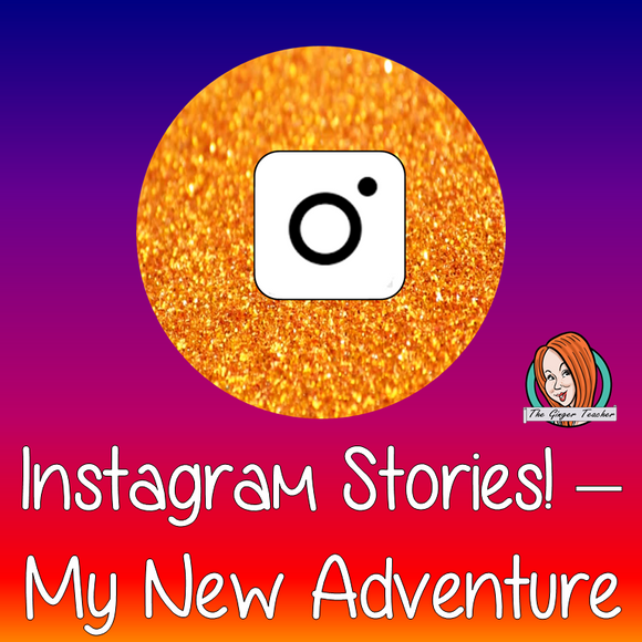 Instagram Stories - My New Adventure