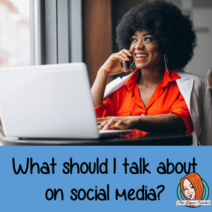 What can I talk about on social media?