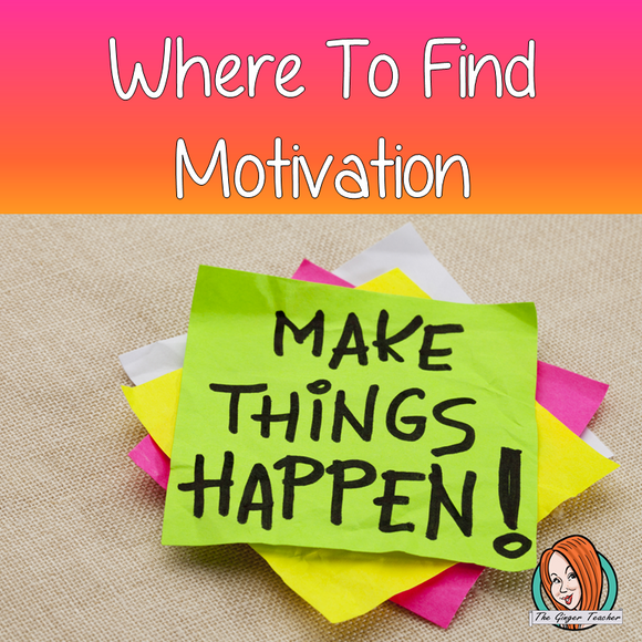 Where to find motivation