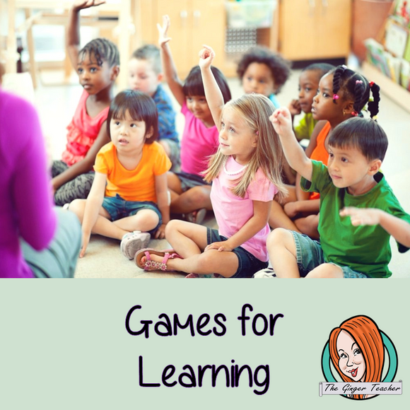 Games to Play in the Classroom
