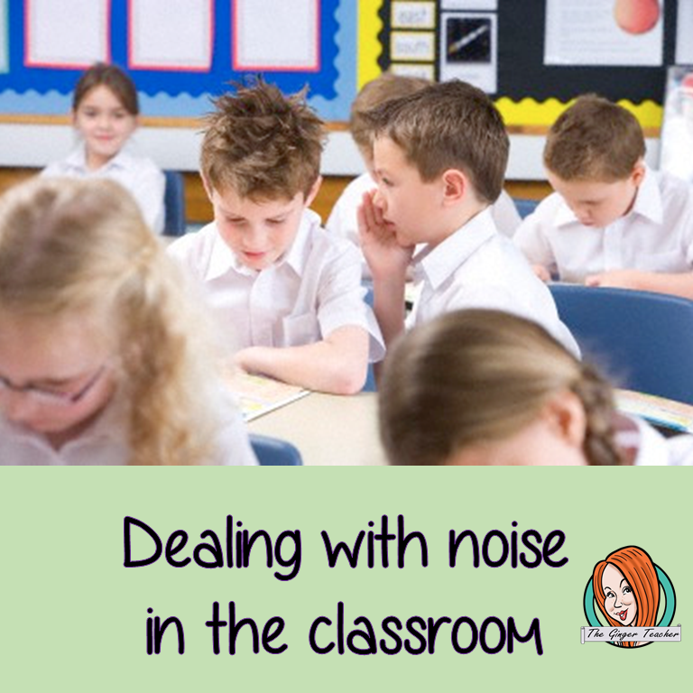 Dealing with noise in the classroom