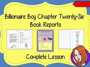 Writing a Book Report; Complete Lesson  – Billionaire Boy