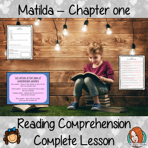 Reading Comprehension – Matilda