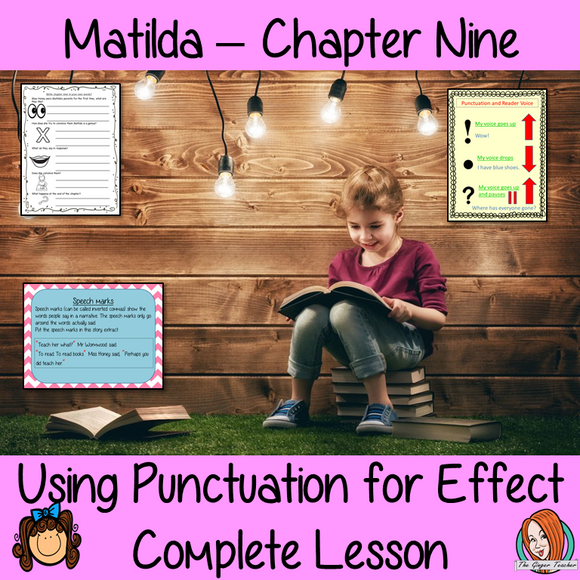 Punctuation for Effect English Lesson  – Matilda