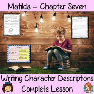 Character Descriptions Lesson  – Matilda