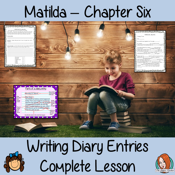 Diary Writing Complete Lesson  – Matilda