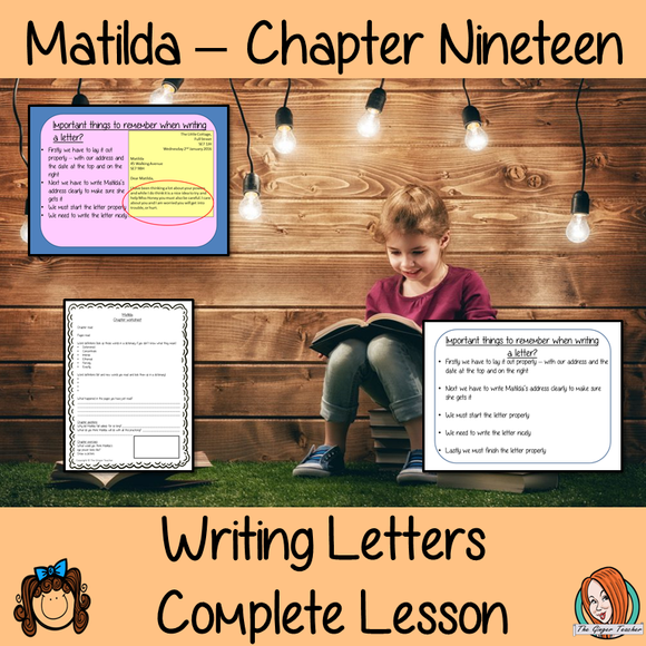 Letter Writing Complete Lesson – Matilda