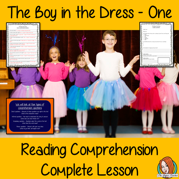 Reading Comprehension Complete Lesson  – The Boy in the Dress