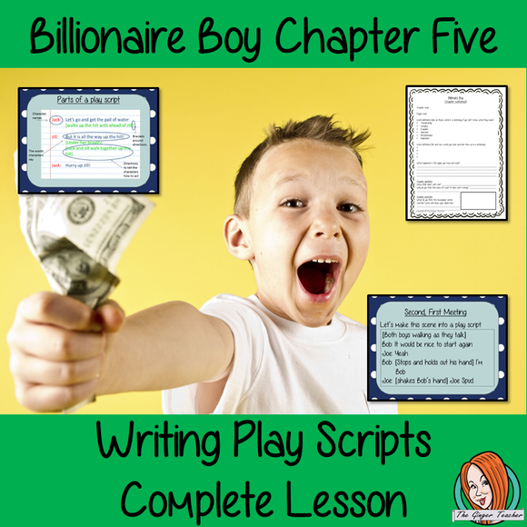 Play Scripts  – Billionaire Boy