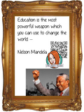 Nelson Mandela Interactive Quote Poster