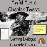 Writing dialogue narratives Complete English Lesson on Awful Auntie by David Walliams. Teachers will get full resources and plans for teaching school children to write dialogue in stories in the classroom. There is a PowerPoint to explain the activity and then practice independently. There is also a short chapter summary sheet for kids to reflect on the chapter read and share their ideas. #lessonplans #teachingideas #readingactivities #davidwalliams