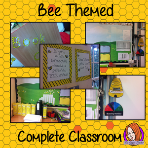 Complete Bee Themed Classroom