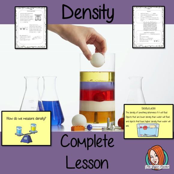 Density Science Lesson