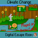 Climate Change Escape Room Boom Cards