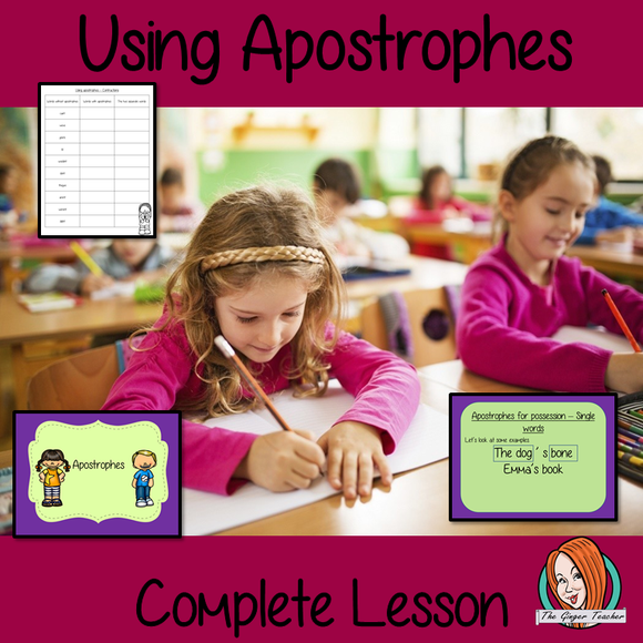 Using Apostrophes Complete Lesson