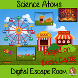 Atoms Science Escape Room Boom Cards