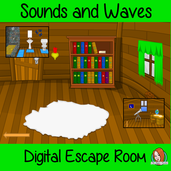 Sounds and Waves Science Escape Room