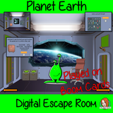 Planet Earth Science Escape Room Boom Cards