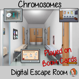 Chromosomes Science Escape Room Boom Cards
