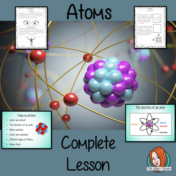 Atoms Science Lesson