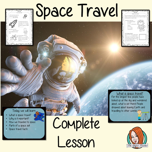 Space Travel Science Lesson