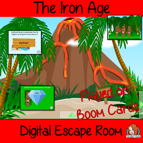 The Iron Age Escape Room Boom Cards