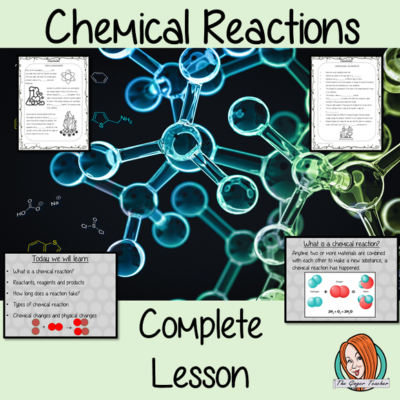 Chemical Reactions Science Lesson