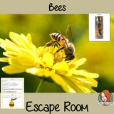 Bees Escape Room Game     Try this escape room style game with your students today! This is a fun game that is perfect for teaching children about Bees. This game focuses on students finding out facts and information and using these to solve puzzles. This helps them to learn.     This activity is great for the beginning of a topic to introduce information or at the end to recap.     Students are trying to help an alien understand Bees and they must solve a series of clues, as well as decode different cipher