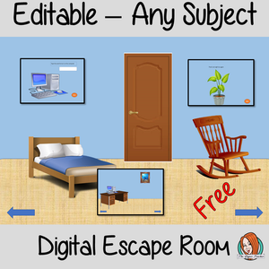 Escape Room Any Subject Revision
