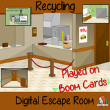 Recycling Escape Room Boom Cards