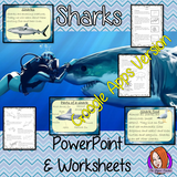 Distance Learning Sharks Google Slides Lesson Kids love sharks! This lesson teaches students about sharks. There is a fun, detailed 58 slide presentation on where sharks live, details and facts about the how they spend their time, information about how they hunt and eat, a look at the different types of sharks and a brief look at the parts of a shark. There are also differentiated, 8 page, sharks worksheets to allow children to demonstrate their understanding and assist their learning. Great for a shark pro