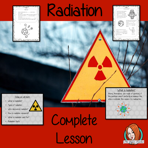 Radiation Science Lesson