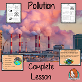 Pollution Science Lesson