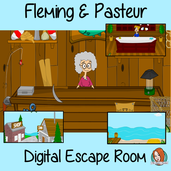 Alexander Fleming and Louis Pasteur Escape Room