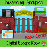 Division Grouping Escape Room Boom Cards